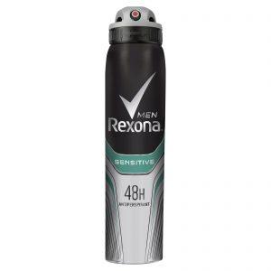 اسپری بدن مردانه رکسونا Rexona مدل Sensitive