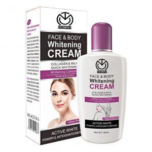 کرم سفید کننده صورت و بدن FACE & BODY WHITENINIGT CREAM AICHUN BEAUTY