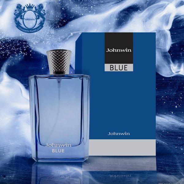 ادکلن مردانه جان وین مدل Blue