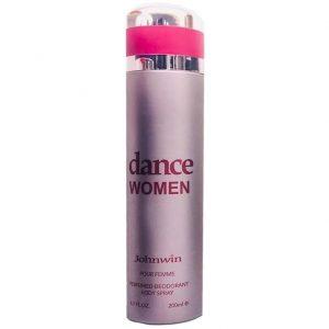 اسپری دئودورانت زنانه جان وین مدل Dance Women