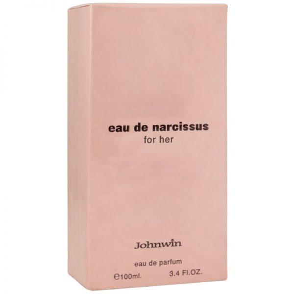 ادو پرفیوم زنانه جان وین مدل Eau De Narcissus For Her حجم ۱۰۰ میل