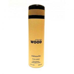 اسپری دئودورانت مردانه جانوین مدل WOOD