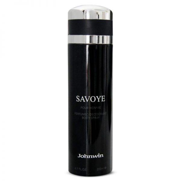 اسپری دئودورانت مردانه جان وین مدل Savoye