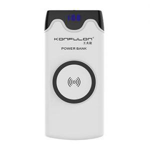 پاور بانک کانفلون با قابلیت شارژ بی سیم مدل M13W ظرفیت ۱۰۰۰۰ میلی آمپر ساعت