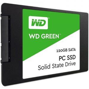 حافظه SSD اینترنال وسترن دیجیتال WD Green 2.5 120GB