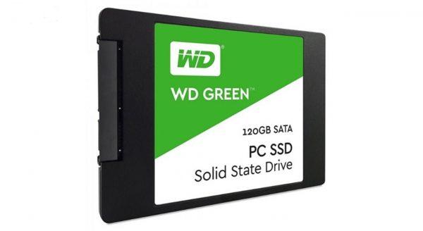 اس اس دی اینترنال وسترن دیجیتال مدل Green PC WDS120G2G0A