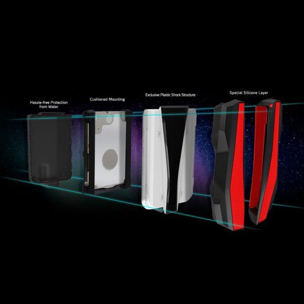 هارد اکسترنال ای دیتا مدل HD770G ظرفیت ۱ ترابایت