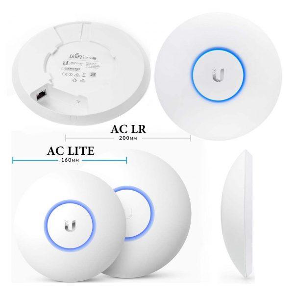 اکسس پوینت بی سیم یوبیکیوتی مدل UniFi AP-AC-LR