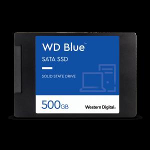 """حافظه اساسدی اینترنال وسترن دیجیتال """"WD Blue SSD 2.5 ظرفیت ۵۰۰GB"""