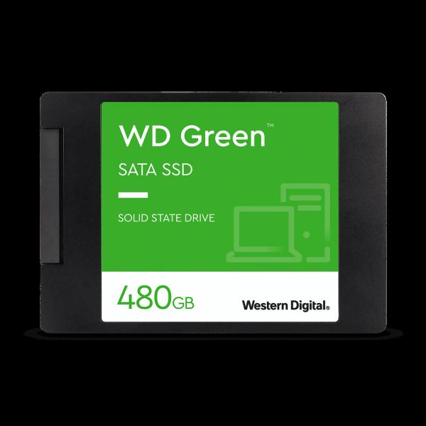 حافظه اساسدی وسترن دیجیتال SSD WD Green ظرفیت ۴۸۰GB