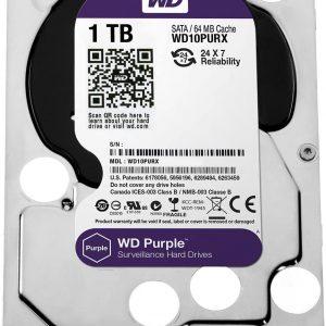 هارددیسک اینترنال وسترن دیجیتال مدل بنفش ۱TB WD Purple Surveillance