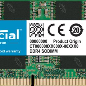 رم دسکتاپ DDR4 تک کاناله ۲۴۰۰ مگاهرتز کروشیال ظرفیت ۸ گیگابایت