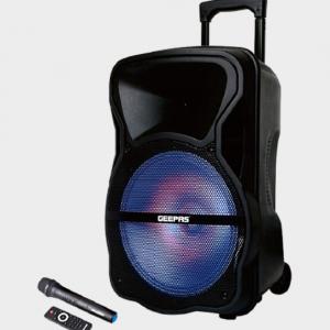 اسپیکر بلوتوثی قابل حمل جیپاس مدل GMS8568 به همراه میکروفون
