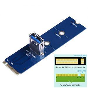 کارت تبدیل M2 به USB 3.0 مدل F003