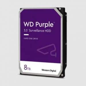 هارددیسک اینترنال وسترن دیجیتال مدل بنفش ۸TB WD Purple Surveillance