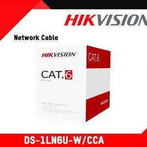 کابل شبکه CAT6 هایک ویژن مدل DS-1LN6U-W/CCA