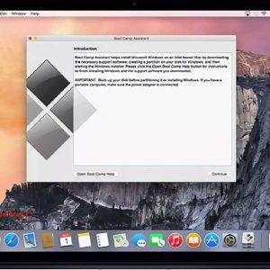 اپل پشتیبانی از پرسژن تاچپد را به بوت کمپ کامپیوترهای مک اضافه کرد
